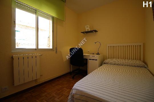 Logement pour étudiants complềtement meublé et avec internet situé dans la zone de Vicálvaro URJC, à Madrid pour seulement 309 € (1462H1, foto favorita)