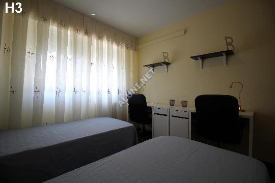 Pokój dla studentów całkowicie umeblowany z internetem, znajdujący się  w Vicálvaro URJC w  Madrid tylko za 359 euro (1462H3, foto favorita)