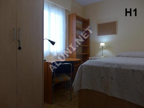 Pokój dla studentów całkowicie umeblowany z internetem, znajdujący się  w Vicálvaro URJC w  Madrid tylko za 315 euro (1496H1, foto favorita)