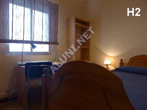 Студенченская меблированная комната с интернетом, расположенна в Vicálvaro URJC, в Madrid  всего лишь за 315 евро (1496H2, foto favorita)
