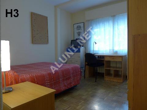 Pokój dla studentów całkowicie umeblowany z internetem, znajdujący się  w Vicálvaro URJC w  Madrid tylko za 340 euro (1496H3, foto favorita)