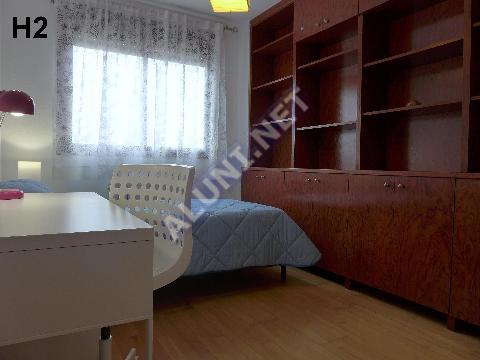 Quarto para estudantes completamente mobilados e com internet, situada na zona de Puerta de Arganda, em Madrid por apenas 395 € (1544H2, foto favorita)