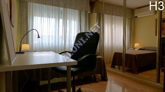 غرفة مفروشة بالكامل مع  انترنت، وتقع في منطقة من منطقة Madrid في مدينةVicálvaro URJC عن سعر  EUR الوحيد320 (1772H3, foto favorita)