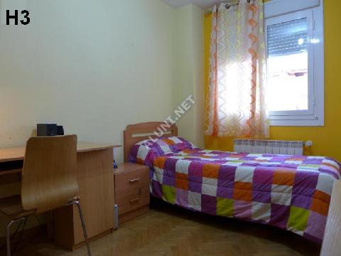 只用 280 €,即可在 Madrid 的Pavones 区租住一间精装带无线网络的学生公寓 (48H3, foto favorita)