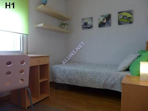 Pokój dla studentów całkowicie umeblowany z internetem, znajdujący się  w Vicálvaro URJC w  Madrid tylko za 317 euro (5H1, foto favorita)