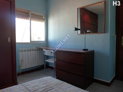 只用 330 €,即可在 Madrid 的Vicálvaro URJC 区租住一间精装带无线网络的学生公寓 (772H3, foto favorita)