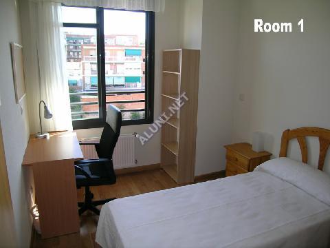 Pokój dla studentów całkowicie umeblowany z internetem, znajdujący się  w Vicálvaro URJC w  Madrid tylko za 360 euro (98H1, foto favorita)